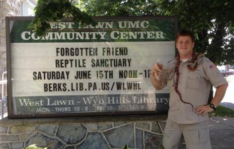 Reptiles community center