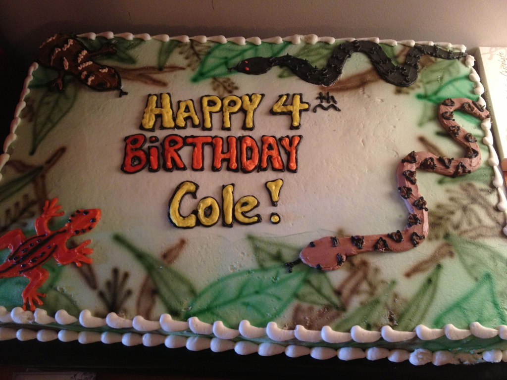 Reptile Birthday Party